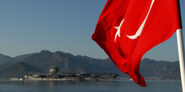 MARMARIS, Turkey (Feb. 9, 2011) The aircraft carrier USS Enterprise (CVN 65) arrives in Marmaris, Turkey...