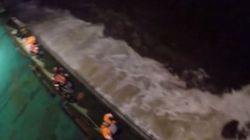 Βίντεο: Διάσωση ναυτικών εν μέσω κακοκαιρίας από ελικόπτερο Super Puma δυτικά της