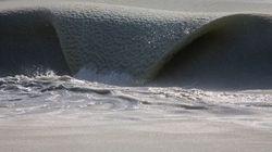 Η Φύση σε όλο της το μεγαλείο: Παγωμένα κύματα on
