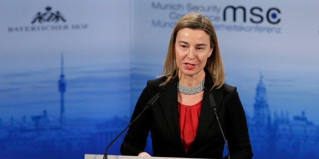 Federica Mogherini, High Representative of the European Union for Foreign Affairs and Security Policy...