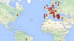 Σε Google Maps οι διαδηλώσεις υπέρ της Ελλάδας σε όλο τον