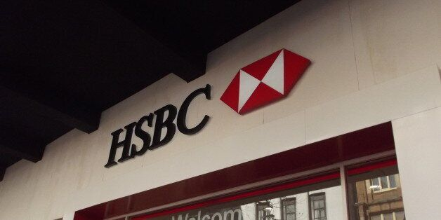 Heading down New Street in Birmingham to the Odeon, I saw this above the entrance to HSBC.HSBC - Welcome...