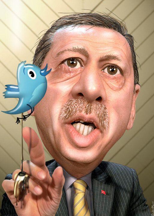 Ερντογάν: Ο άνθρωπος που έριξε το twitter στη χώρα του, κάνει το πρώτο του