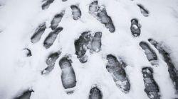 Χιόνια στην Αττική και πτώση