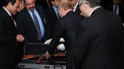 Ο Πούτιν έκανε δώρο στον Αιγύπτιο πρόεδρο ένα