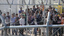 Ελεύθεροι οι πρώτοι 20 μετανάστες από την Αμυγδαλέζα. Ένταση με τα ΜΑΤ σε πορεία