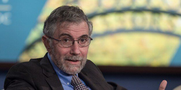 Nobel Prize-winning economist Paul Krugman speaks at the Challenges of Job-Rich and Inclusive Growth...