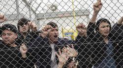 Ένταση και πάλι στην Αμυγδαλέζα. Κρατούμενοι-μετανάστες έβαλαν φωτιά, κάποιοι προσπάθησαν να