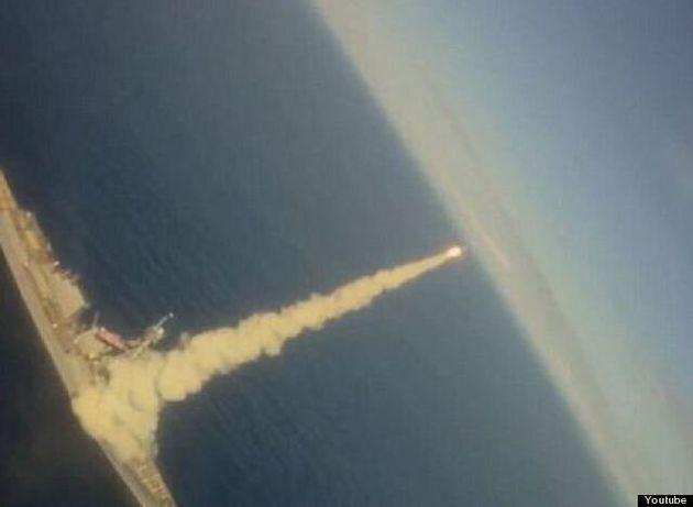 Πύραυλος Tomahawk τρυπά κοντέινερ που ήταν εν