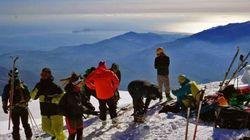 Pierra Creta ένας αγώνας ορειβατικού σκι στην