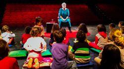 Παραμύθια με την Ξένια Καλογεροπούλου για γονείς και παιδιά στο Θέατρο