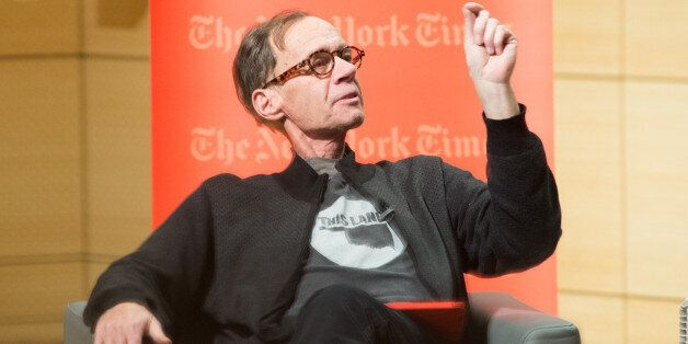 NEW YORK, NY - FEBRUARY 12: New York Times Columnist David Carr attends the TimesTalks at The New School...
