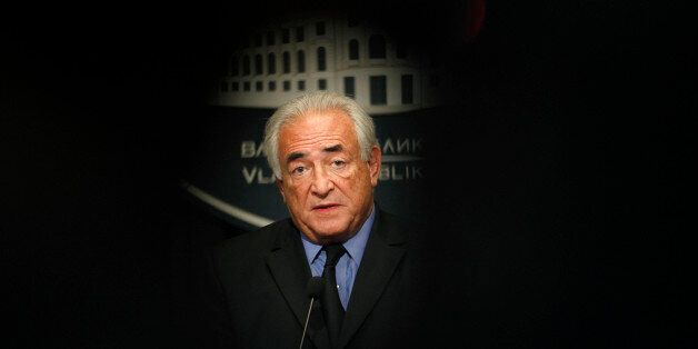 FILE - This Tuesday, Sept. 17, 2013, file photo shows former International Monetary Fund chief Dominique...