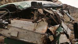 16 νεκροί και 30 τραυματίες σε σύγκρουση αμαξοστοιχίας με λεωφορείο στο