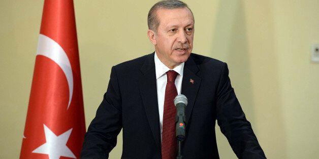 Ο Τούρκος πρόεδρος, Ρετζέπ Ταγίπ Ερντογάν (Φωτογραφία