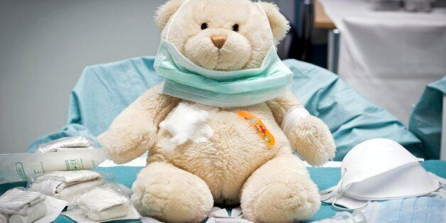 The University Medical Center Groningen (UMCG) was partly transformed into the Teddy Bear Hospital on...