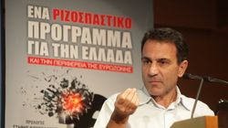 Ο Κ.Λαπαβίτσας προτείνει δημοψήφισμα εάν «ναυαγήσει» η διαπραγμάτευση με τους