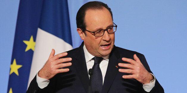Ο Γάλλος πρόεδρος, Φρανσουά Ολάντ (φωτογραφία