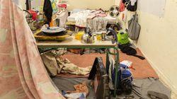 Επιχείρηση της ΕΛΑΣ στα Εξάρχεια - Εκκένωση κτηρίου όπου διέμεναν