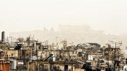 Υποχωρεί αλλά επανέρχεται από Τετάρτη η αφρικανική σκόνη, αν και