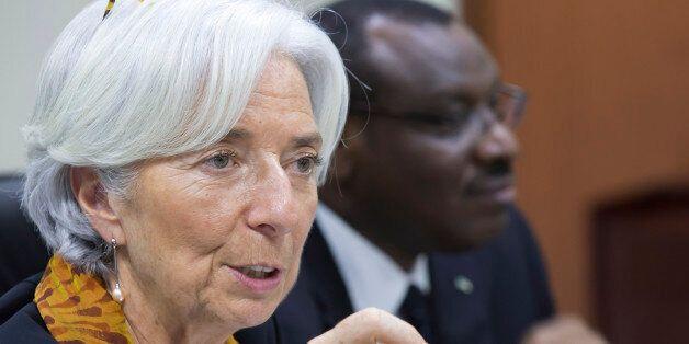 KIGALI, RWANDA - JANUARY 27: In this handout provided by the International Monetary Fund (IMF), International...