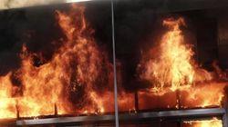Μεγάλη πυρκαγιά σε κατάστημα στο