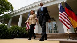 Συνάντηση Ομπάμα - Μέρκελ στις 9