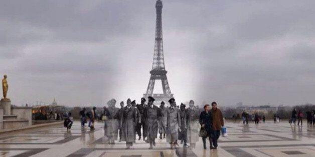 Φωτογραφίες του Β' Παγκοσμίου Πολέμου συναντούν το