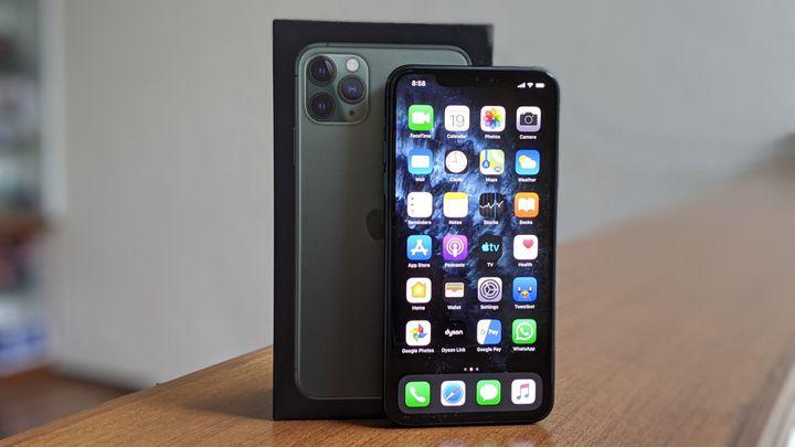 The iPhone 11 Pro Max box.