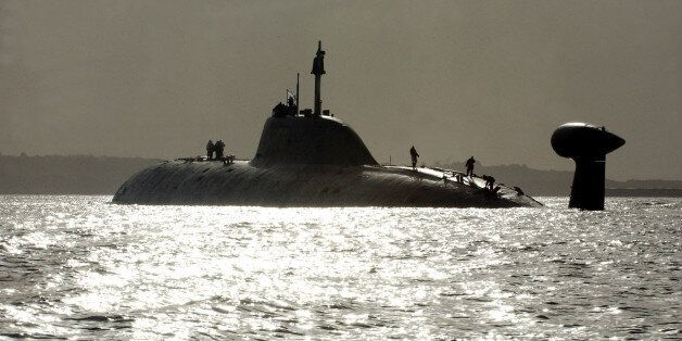 ** FILE ** One of Russia's Shchuka (Pike) class (NATO reporting name: Akula) nuclear submarines, The...