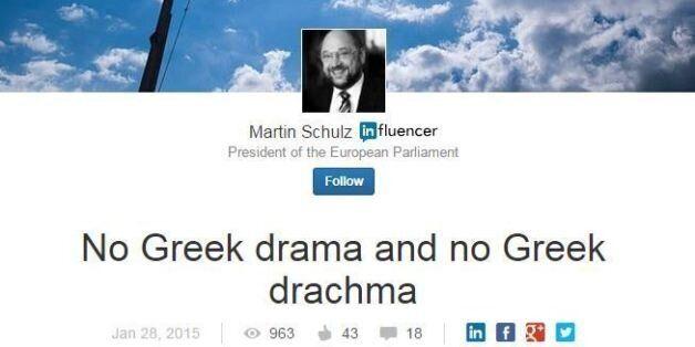 Δεν συμφέρει κανέναν να βγει η Ελλάδα από την ευρωζώνη λέει ο Μάρτιν