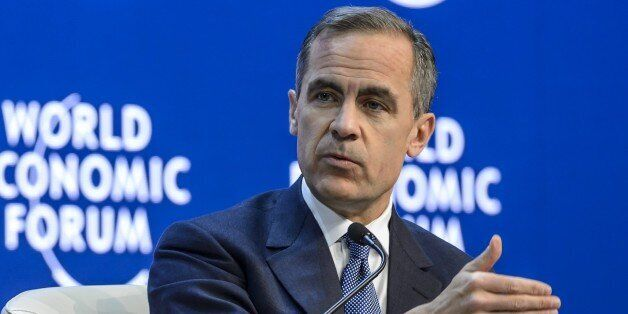Bank of England's Governor Mark J. Carney (FABRICE COFFRINI/AFP/Getty