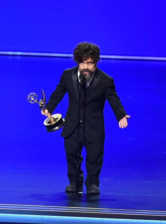Game Of Thrones Star Peter Dinklages Sweary Emmys Speech Censored By Producers