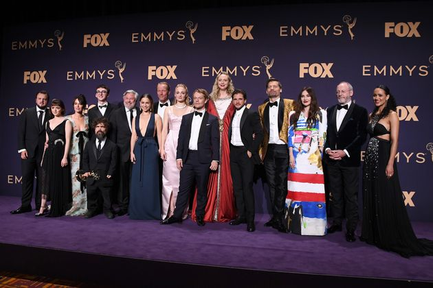 The cast and crew of Game Of