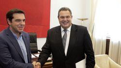 Συμφωνία Τσίπρα-Καμμένου για σχηματισμό