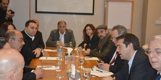Αλέξης Τσίπρας σε Ελληνοκύπριους και Τουρκοκύπριους: Να αποσυρθεί το Μπαρμπαρός για να αποκατασταθεί...