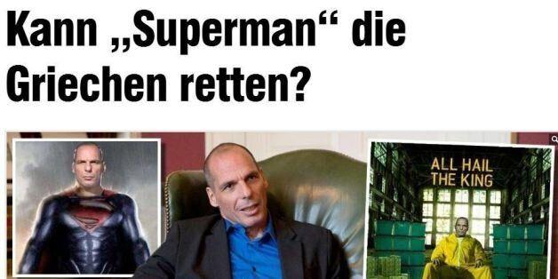 «Μπορεί ο Σούπερμαν να σώσει την Ελλάδα;» αναρωτιέται η γερμανική