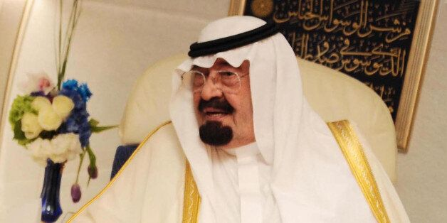CAIRO, EGYPT - (ARCHIVE) A file photo dated 21 June 2014 shows Saudi King Abdullah bin Abdelaziz in Cairo,...