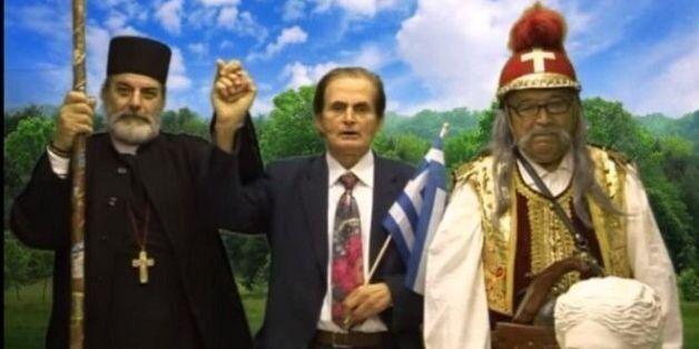 Και όμως στο Κίνημα Ελλάδα ο Κολοκοτρώνης και ο Παπαφλέσσας ζητούν τη ψήφο του ελληνικού
