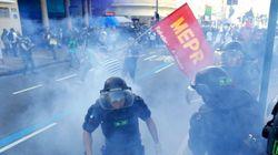 Επεισόδια στη Βραζιλία και χρήση σφαιρών καουτσούκ από την αστυνομία κατά