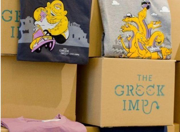 «The Greek Imp»: Τα μπλουζάκια που θέλουν να κάνουν μόδα την ελληνική