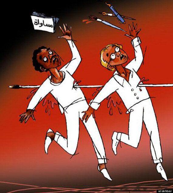 Οι σκιτσογράφοι του αραβικού κόσμου απαντούν στην επίθεση στο Charlie
