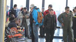 Στο Ελευθέριος Βενιζέλος έφτασαν ακόμη 107 Έλληνες διασωθέντες του Norman