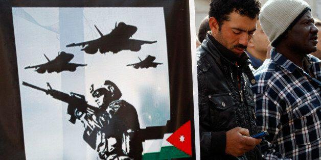 Φωτογραφία από διαδήλωση κατά του ISIS στην