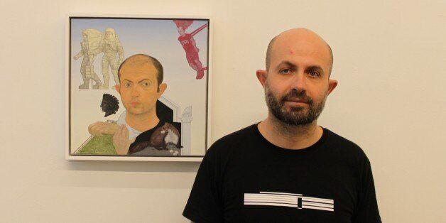 Μανώλης Μπιτσάκης: Toν συναντήσαμε στην έκθεσή του στη γκαλερί