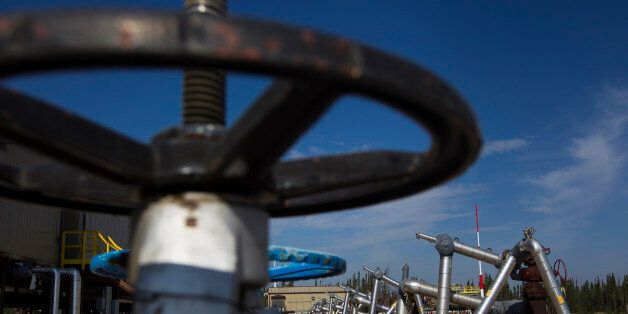 A well pad stands at Christina Lake, a situ oil production facility half owned by Cenovus Energy Inc....