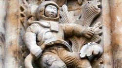 Τα μυστήρια του ναού της Σαλαμάνκα. Ο περίεργος σκαλιστός αστροναύτης ηλικίας 500