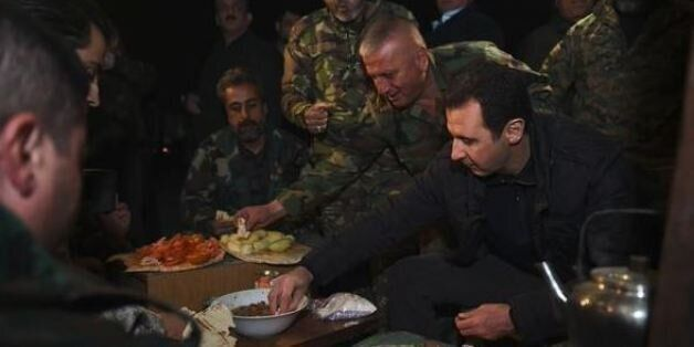 Επίσκεψη Άσαντ σε στρατιώτες για την