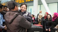 Le 1er vol de réfugiés est arrivé