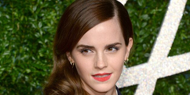 Emma Watson arriving at the British Fashion Awards 2014, the Colosseum Theatre,
